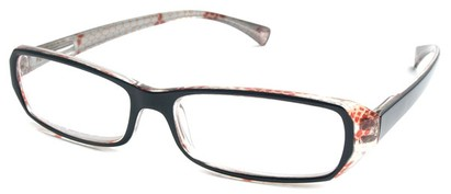 Angle of The Estelle in Black and Red/Clear, Women's and Men's