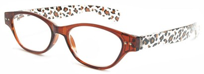 Angle of The Atlantic City in Brown Leopard, Women's and Men's