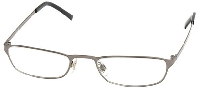 Angle of The Professor in Glossy Grey, Women's and Men's