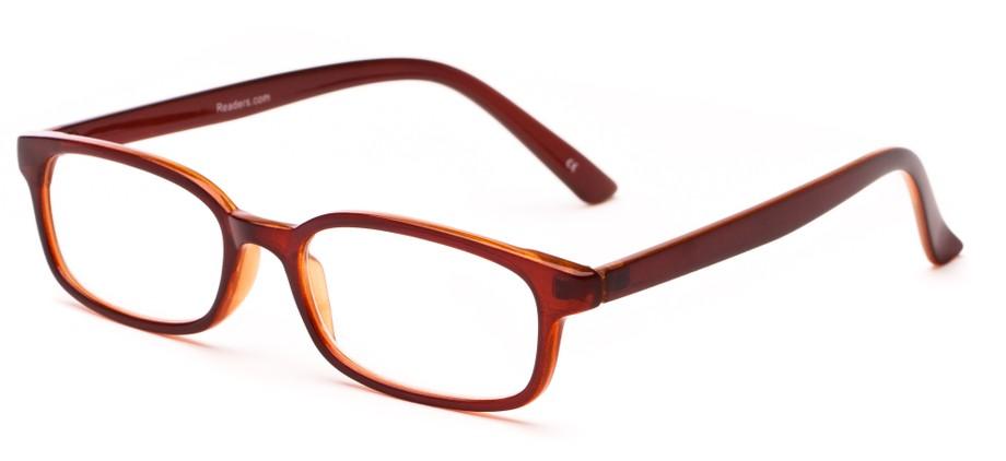 classic rectangular reading glasses unisex style