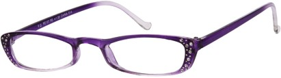 Angle of The Judy in Purple Fade, Women's and Men's