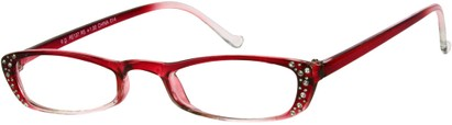Angle of The Judy in Red Fade, Women's and Men's
