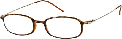 Angle of The Michigan in Brown Tortoise, Women's and Men's