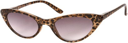 Leopard Print Cat Eye Reading Sunglasses