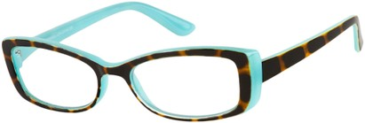 Angle of The Julianne in Blue/Tortoise, Women's and Men's
