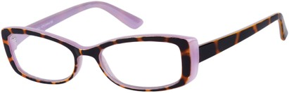 Angle of The Julianne in Purple/Tortoise, Women's and Men's