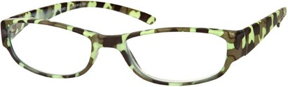 Angle of The Howland in Light Green Camo, Women's and Men's