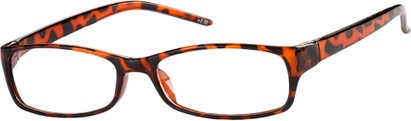 Angle of The Yorktown in Tortoise, Women's Rectangle Reading Glasses