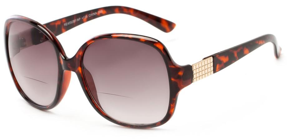 Reading Sunglasses Non Bifocal  stylish oversized bifocal cheater sunglasses for women