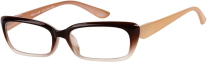 Angle of The Ursula in Brown Fade, Women's and Men's