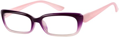 Angle of The Ursula in Purple Fade, Women's and Men's