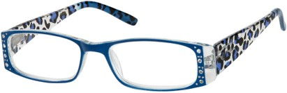 Leopard Print Reading Glasses