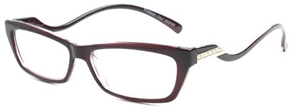 Angle of The Mallory in Maroon, Women's and Men's