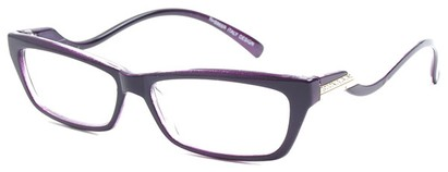 Angle of The Mallory in Purple, Women's and Men's
