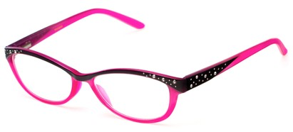 Angle of The Allyson in Pink/Black, Women's and Men's