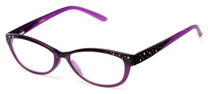Angle of The Allyson in Purple/Black, Women's and Men's