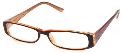 Angle of The Olivia in Brown and Orange, Women's and Men's