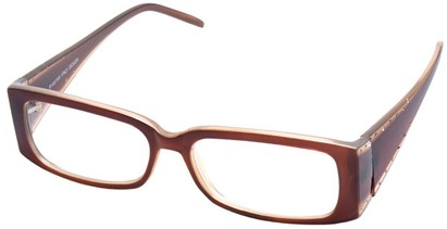 Angle of The Diamond  in Brown Frame, Women's and Men's