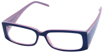 Angle of The Diamond  in Purple Frame, Women's and Men's