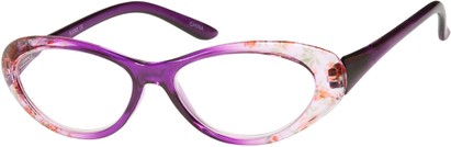 Floral Cat Eye Reading Glasses
