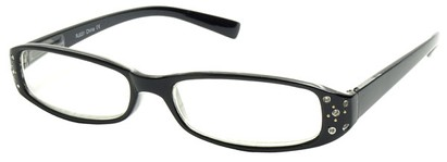 Angle of The Joyce in Black Frame, Women's and Men's