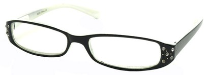 Angle of The Joyce in Black and White Frame, Women's and Men's