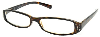Angle of The Joyce in Tortoise Frame, Women's and Men's