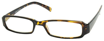 Angle of The Becky in Tortoise Frame, Women's and Men's