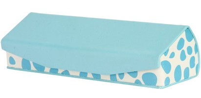 Angle of Reading Glasses Case #1002 in Light Blue, Women's and Men's  Hard Cases