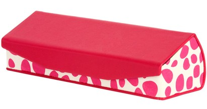 Angle of Reading Glasses Case #1002 in Hot Pink, Women's and Men's  Hard Cases