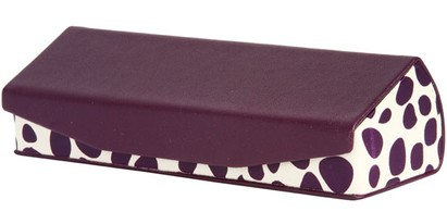 Angle of Reading Glasses Case #1002 in Purple, Women's and Men's  Hard Cases