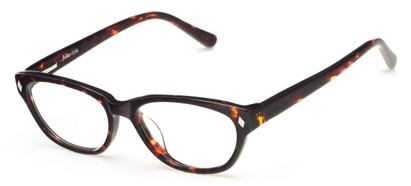 Angle of Rosslyn by felix + iris in Tortoise, Women's Cat Eye Reading Glasses