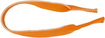 Angle of Sport Neck Cord in Neon Orange, Women's and Men's  Neck Cords
