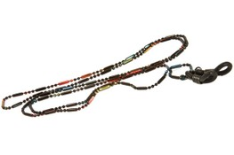 Angle of Orleans Reading Glasses Chain in Dark Multi, Women's  Neck Chains