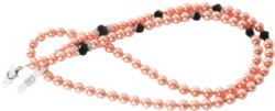 Angle of Pearl Reading Glasses Chain in Pink, Women's and Men's  Neck Chains