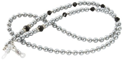 Angle of Pearl Reading Glasses Chain in Silver, Women's and Men's  Neck Chains