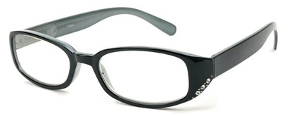 Angle of The Eloise in Solid Black, Women's and Men's