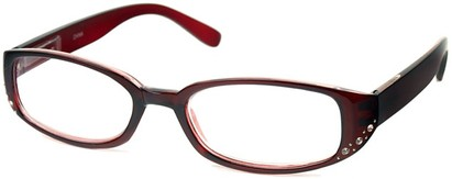 Angle of The Eloise in Dark Red, Women's and Men's