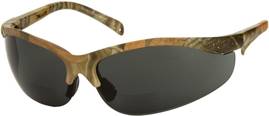 DIGITAL CAMOUFLAGE SMOKED LENS SUN SAFETY GLASSES U.S.A MADE