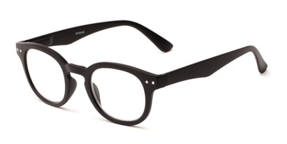 Angle of The Sailor in Black, Women's and Men's Round Reading Glasses