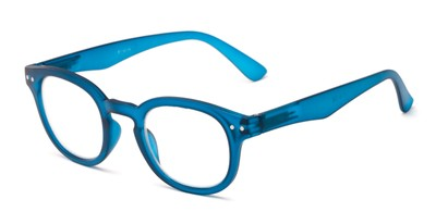Angle of The Sailor in Blue, Women's and Men's Round Reading Glasses