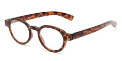 Angle of The Myrtle in Tortoise, Women's and Men's Round Reading Glasses