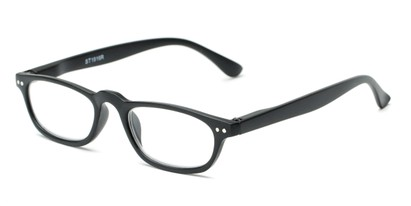Angle of The Sunset in Black, Women's and Men's Rectangle Reading Glasses