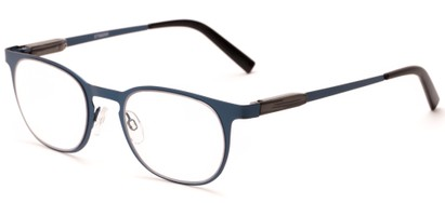Angle of The Meadow in Blue, Women's and Men's Round Reading Glasses