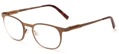 Angle of The Meadow in Bronze, Women's and Men's Round Reading Glasses