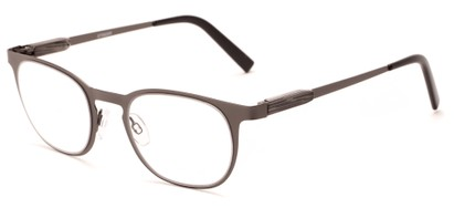 Angle of The Meadow in Gunmetal, Women's and Men's Round Reading Glasses