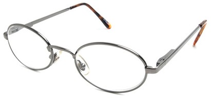 Angle of The Lafayette in Grey Frame, Women's and Men's