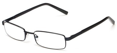 Angle of Salem by felix + iris in Black, Women's and Men's Rectangle Reading Glasses