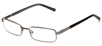 Angle of Salem by felix + iris in Gunmetal Grey, Women's and Men's Rectangle Reading Glasses