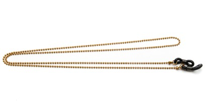 Angle of Seattle Reading Glasses Chain in Bronze, Women's  Neck Cords